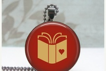 Etsy Love Gift Guide / A gift guide of bookish finds featured on my Friday blog posts. If item is sold, click through to shop for similar items.