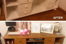 malowanie/ recykling mebli