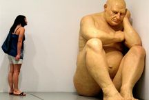 US art - hyper-realism - ron mueck