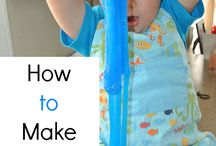 Slime Recipes & Play Ideas / by Rainey Day Play