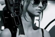 bad Girls with big gun