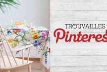 Trouvailles Pinterest: Déco fleurie