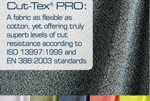 Cut-Tex PRO Fabric / Cut-Tex PRO - Revolutionary cut resistant fabric