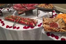 Wedding Venue Catering in Toronto / Catering menus and foods as presented by a wedding event venue in Toronto