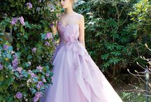 Roundup Post: Colorful Wedding Dresses