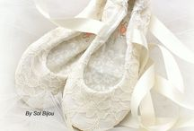 Wedding Shoes / I would like flats, ideally with lace detail and comfortable :)