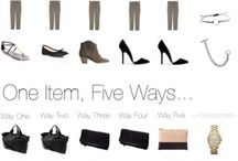 One item five ways