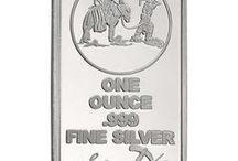 SilverTowne Trademark Bars / SilverTowne Minted Trademark Bars