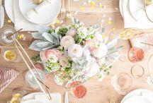decoração , mesas, louças , jardinagem