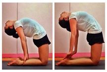 Yoga Diary / In Yoga, never measure yourself against others. Be patient and accept where you're at.  Namaste! ❤️