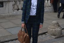 London Fashion Week Street Style / For some everyday is a catwalk...  Here are some of the catwalk worthy looks we spotted at London Fashion this week. Share you #LFW #OOTD with us over on Twitter http://bit.ly/U5DxTV / by George at Asda