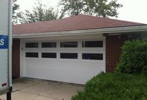 Garage Makeover / Complete garage makeover with a new Garage Door, LiftMaster Opener, and Lifestyle Garage Screen!  This garage is ready for year-round use!
