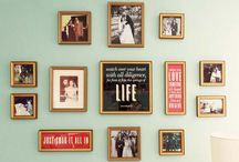 Photo walls / by Kelly Couts-Jones