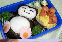 Bento inspirations / Cute japanese / Asian bento & western lunch sandwich ideas