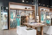 Ambientação de loja roupa