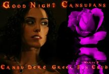 Good Night Arworks for #CansuDereGreekFunClub / Good Night #CansuDere