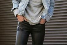 leather pance outfit
