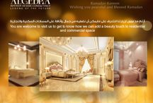 Majlis Designs / ALGEDRA interior design has a very intelligent designers who will start with the conceptual planning and development to provide all the important drawings for your project