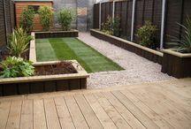 Ideal garden / To wave under husbands nose...