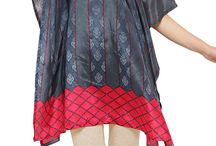Kaftan and Abayas / Get all trendy Islamic Dresses and Designer Abayas on Nallu Collection.