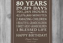 cumpleaños 80
