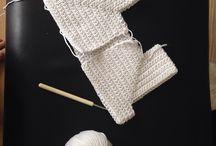 Projekt hæklet dåbskjole / Hæklet dåbskjole