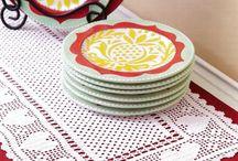 Crochet TABLE RUNNERS