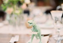 Quirky T-Rex Wedding