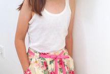 Girls handmade skirts / Our 'mils & ike' handmade girls skirts xx