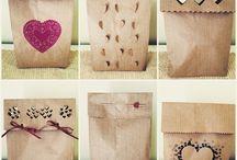 sacolas decorada