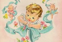 vintage cards assortment