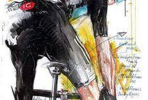 Arte de ciclismo