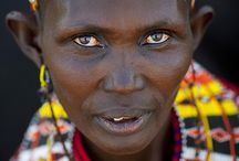 Beauty of Tribes / There are about 3000 tribes in Africa and each has its own language or dialect of a language and culture.