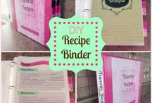 Recipe Binder DIY
