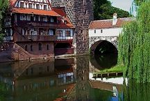 Ostenheim / Buildings and cities that provided inspiration for Ostenheim.