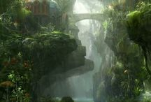 Fantasy worlds / Cool worlds and creatures