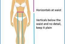 Vartalotyypit - Body shapes