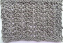 Knitting Swatches / Knitting patterns and swatches