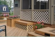 Xpanse Lattice / Xpanse lattice adds privacy, decorative accents, and a distinctive touch to any project! We've got 3 designs and 10 fun colors to choose from.