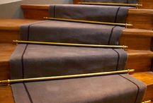 Tapis cage escalier immeuble