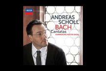 ANDREAS SCHOLL / Andreas Scholl es un contratenor alemán.