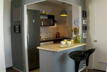 Space,  home, kitchen