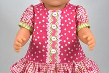 Doll's clothes / baby born, waldorf doll and blythe