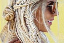 Flätat hår