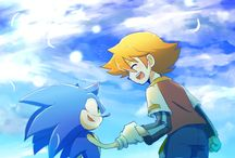 Sonic and Chris