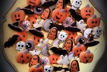 Mini galletas Halloween/ Halloween mini cookies / www.memcakesandcookies.com Facebook - MEM Cakes & Cookies