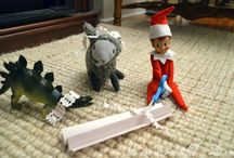 Elf on the Shelf ideas / by Tracy Smith Spafford