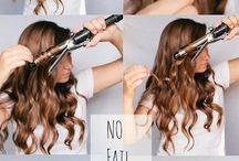 easy curly hair