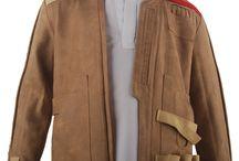 Star Wars costumes / Star Wars 7 VII The Force Awakens Kylo Ren, Han Solo, Finn cosplay costume