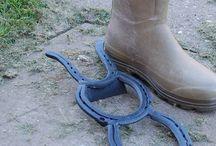 fun with horseshoe.